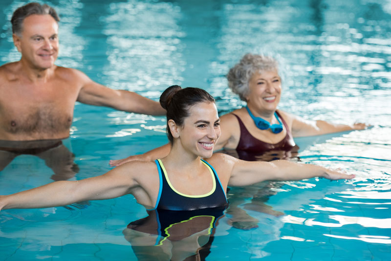 Kurs Aquafitness fuer Jedermann